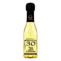 Zlaté šumivé víno 23 karát 0,2 l Narodeniny 30