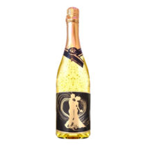 Zlaté šumivé víno 23 karát 0,75 l Svadobné