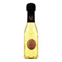 Zlaté šumivé víno 23 karát 0,2 l Narodeniny kovová etiketa 18