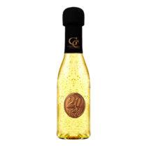 Zlaté šumivé víno 23 karát 0,2 l Narodeniny kovová etiketa 20