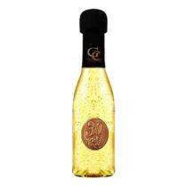 Zlaté šumivé víno 23 karát 0,2 l Narodeniny kovová etiketa 30