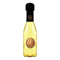 Zlaté šumivé víno 23 karát 0,2 l Narodeniny kovová etiketa 60